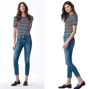 Citizens of Humanity rocket crop high rise skinny